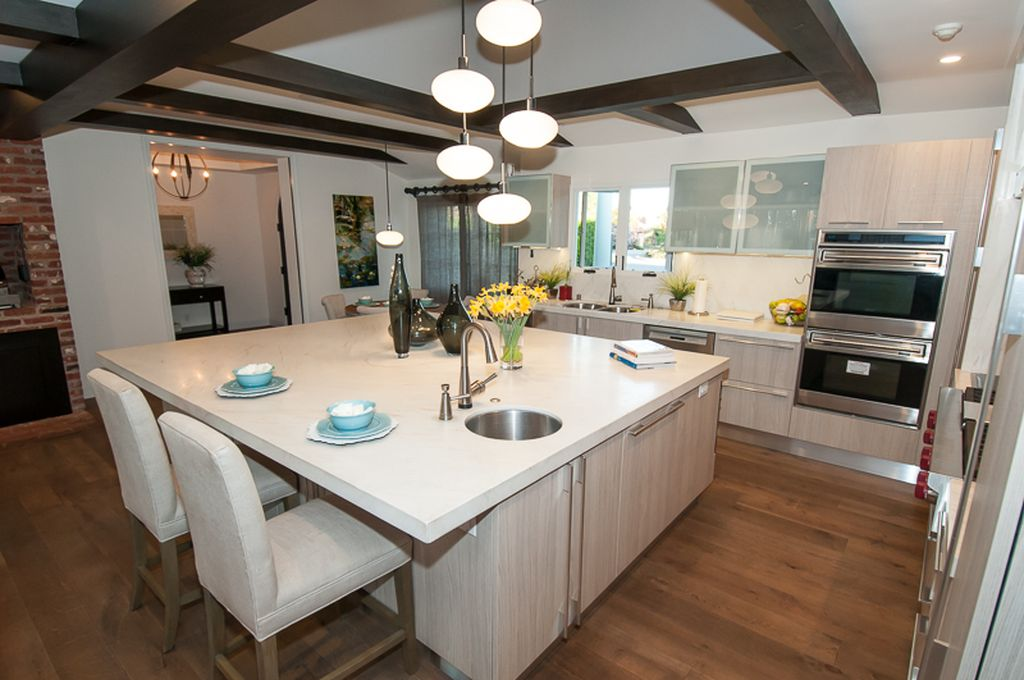 house staging san diego kitchen