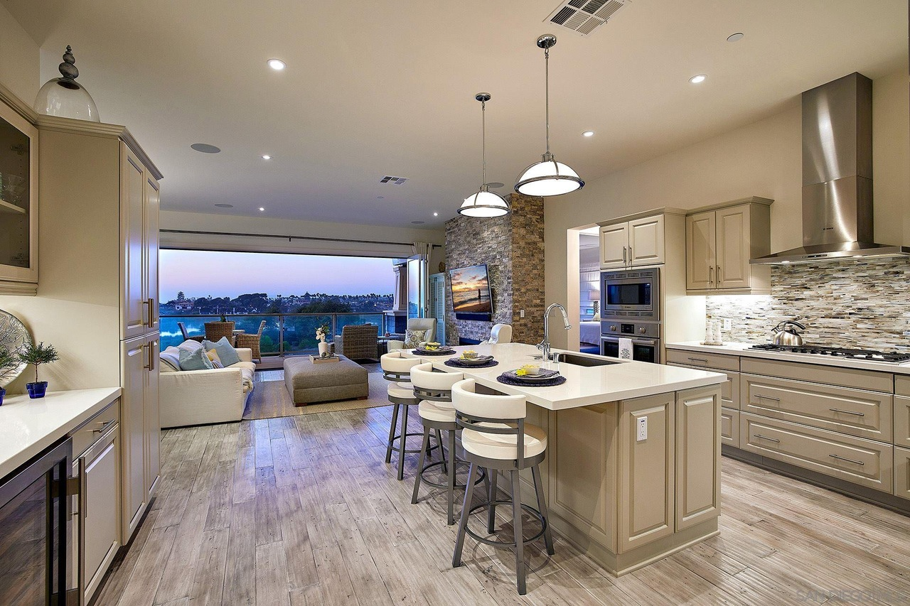 house staging san diego kitchen room