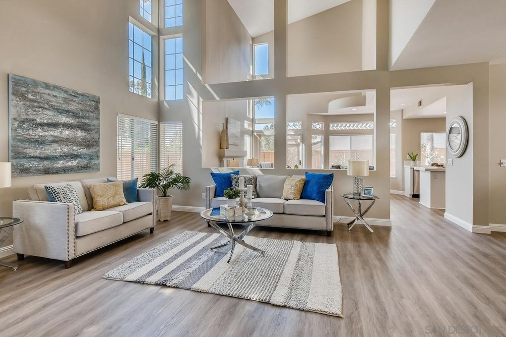 house staging san diego living room